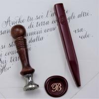 """""""Luxe"""" - Bâton de cire rouge vénitien"""