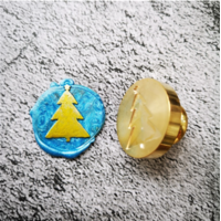 """Christmas"" - Sceau sapin de Noël"