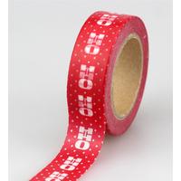 """Ho Ho Ho"" - Masking tape Noël"