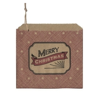 """Merry Christmas"" - 45 sachets kraft"