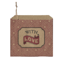 """With love"" - 45 sachets kraft"