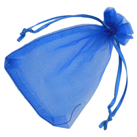 """""""Organza"""" - 25 pochettes bleu vif"""