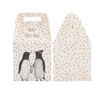 """""""Pingouin"""" - Jolie boite cadeau pour Noël"""