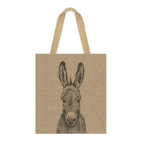 """Shopping bag"" - Grand sac en jute âne"