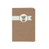 """""""Carnet"""" - Petit cahier avec un chien"""