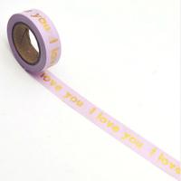 """Love"" - Foil tape 10m"