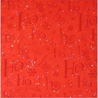 """""""Ho Ho Ho"""" - 5 feuilles de papier de soie Noël"""