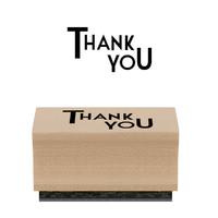 """""""Merci"""" - Tampon bois"""
