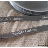 """""""Modèle unique"""" - 1m de ruban satin"""