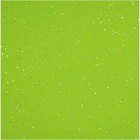 """""""Diamant"""" - 5 feuilles de papier de soie vert avec incrustations"""