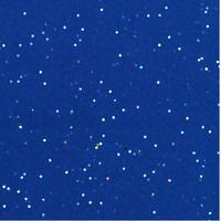 """""""Diamant"""" - 5 feuilles de papier de soie bleu et paillettes"""