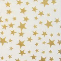 """""""Etoiles"""" - 5 feuilles de papier de soie doré"""