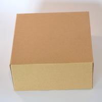 """""""Carré"""" - Boite carton kraft 14cm"""