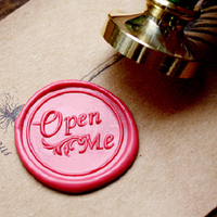 """""""Open me"""" - Sceau pour cachet de cire"""