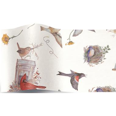 feuille emballage oiseau