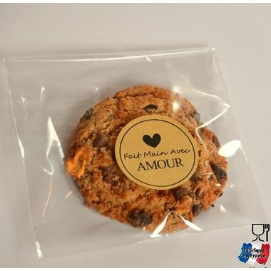 sachet cookie vide