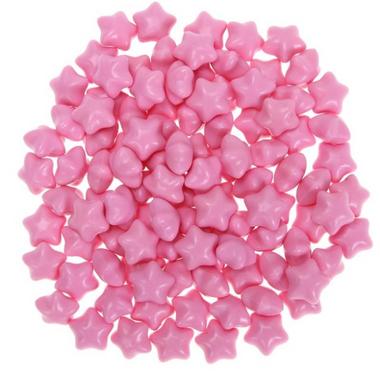 granule cire rose etoile