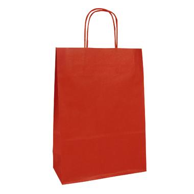 pochette papier rouge