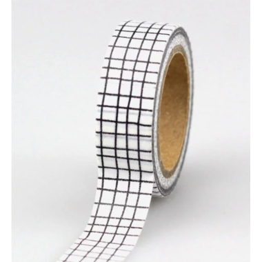 washi tape carreaux