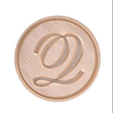 sceau avec une lettre