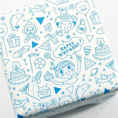 papier cadeau a colorier