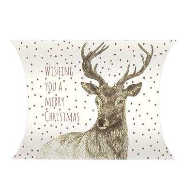 boite cadeau avec un renne