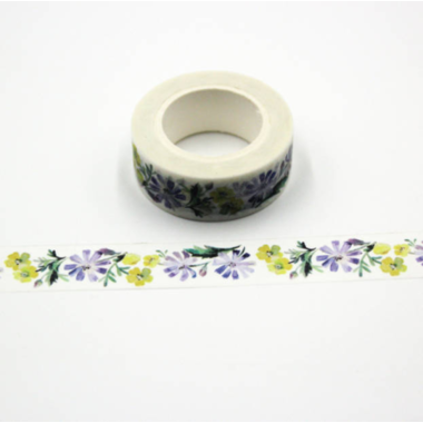 washi tape fleurie