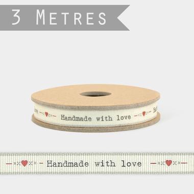 ruban handmade with love