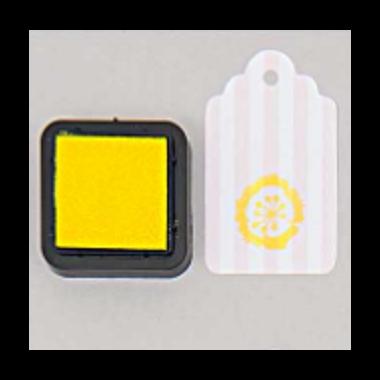 tampon encreur jaune
