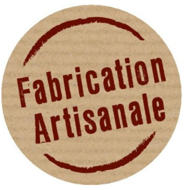 autocollant fabrication artisanale