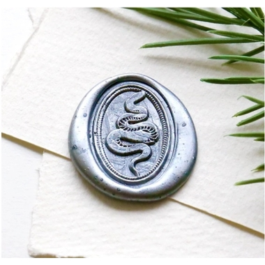 sceau de cire ovale