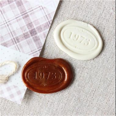 sceau ovale 1973