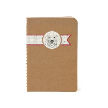 cahier avec un ours
