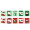 """""""Papa Noël"""" - 10 timbres pour la lettre du Père Noël"""