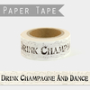 """Dance on the table"" - Masking tape 10m"