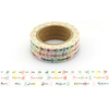 """Diary"" - 3 masking tapes pour bullet journal"