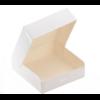 """""""Carré - Boite carton blanc 16cm {2 épaisseurs}"""