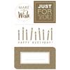 """DIY"" - 16 stickers d'anniversaire"