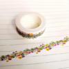 """Gorgeous"" - Masking tape fleurs"
