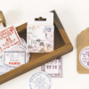 """""""Stamp"""" - 45 autocollants Airmail"""