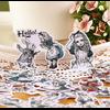 """Wonderland"" - 40 jolis autocollants Alice"