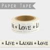 """Love"" - Masking tape 10m"