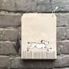 """""""Kraft"""" - 10 sachets papier avec un chien"""