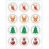 """""""Avent"""" - 24 stickers Noel"""