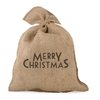 """Merry Christmas"" - Grand sac en jute"