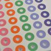 """""""Soft"""" - Planche de 40 oeillets couleur"""