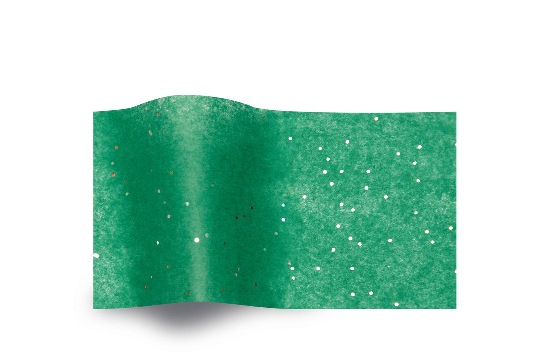 emeraude 5 feuilles de papier de soie vert et paillettes papiers papier de soie paillettes. Black Bedroom Furniture Sets. Home Design Ideas