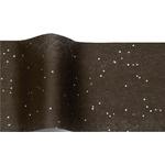 papier de soie noir paillette
