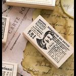 tampon vintage francais