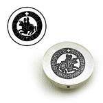 sceau de cire templier